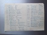 Групповое фото офицеров с перечнем фамилий на обороте, фото №7