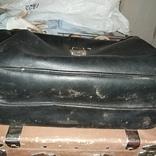 Чемодан - кейс, саквояж ссср , бирка, фото №5