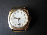 Часы   OMEGA   Швейцария   золото  585пр., фото №2