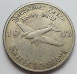 Германия. Третий рейх. Истребитель. 10 марок 1942 г. Копия, фото №2