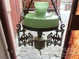 Керосиновая люстра Австро -Венгрия. №3.Сецесия., фото №3