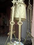 Керосиновая люстра Австро -Венгрия. №3.Сецесия., фото №7
