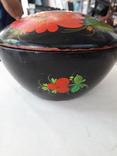 Шкатулка для рукоделия ( ручная роспись), фото №7