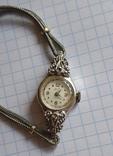 GRUEN swiss , позолота , бриллианты, фото №2