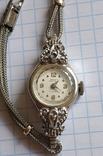 GRUEN swiss , позолота , бриллианты, фото №4