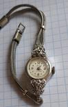 GRUEN swiss , позолота , бриллианты, фото №5