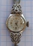 GRUEN swiss , позолота , бриллианты, фото №6