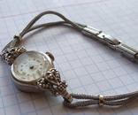 GRUEN swiss , позолота , бриллианты, фото №9