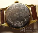 "Marvin HERMETIC 17 камней ""560"", goldfilled G20 (D.B.) № 531323, фото №6"