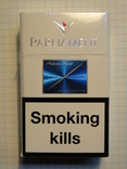 Сигареты PARLIAMENT AQUA BLUE