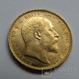 1 фунт (соверен) 1905 г. Британская империя., фото №2