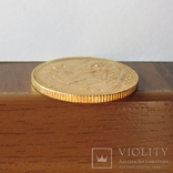 1 фунт (соверен) 1905 г. Британская империя., фото №9