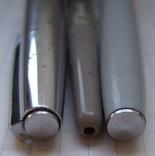 Перьевая ручка АР-19 МЗПП. Перо с напайкой. Пишет довольно мягко и тонко., фото №5