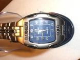 Часы Titanium Gold новые на подарок
