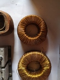Трансформаторы медные медь обмотка радио детали уборка гаража, фото №2