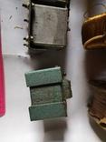 Трансформаторы медные медь обмотка радио детали уборка гаража, фото №11