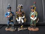 Лот 3 шт .. гренадер  + Егерь + маршал  Наполеон, фото №2