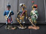 Лот 3 шт .. гренадер  + Егерь + маршал  Наполеон, фото №3