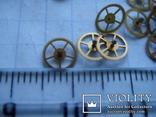 Колесико к часовому механизму 30 шт., фото №3