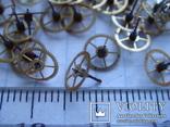 Колесико к часовому механизму 70 шт., фото №4