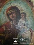 Икона старая 12 х23см, фото №8
