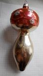 Елочная игрушка - грибок, СССР., фото №4