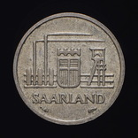 10 Франков 1954, Саар Германия, фото №3