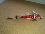 Ёлочная игрушка из стекляруса СССР, фото №2