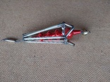 Ёлочная игрушка из стекляруса СССР, фото №4