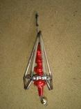 Ёлочная игрушка из стекляруса СССР, фото №7