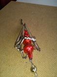 Ёлочная игрушка из стекляруса СССР, фото №8