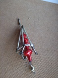 Ёлочная игрушка из стекляруса СССР, фото №11