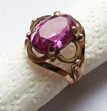 Кольцо с камнем, 583 проба., фото №2