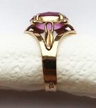 Кольцо с камнем, 583 проба., фото №3