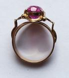 Кольцо с камнем, 583 проба., фото №5