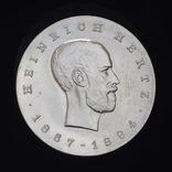 5 Марок 1969 75 лет со дня смерти Генриха Рудольфа Герца, Германия ГДР, фото №2