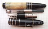 Перьевая ручка ''Montblanc Scott Fitzgerald''. Пишет очень мягко, тонко и насыщенно. Копия, фото №6