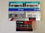 Аудиокассеты Sony, TDK, AKAI, Bigston, фото №2