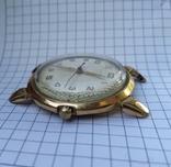 """Часы """"Poljot"""", 16 камней, золото 20м, фото №6"""