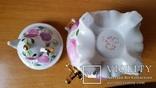 Самовар, цукерничка, фарфор, Сисерть, Н20,5 см, фото №8