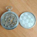 Карманные часы Молния. Тонкие. Рабочие., фото №3
