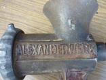 """Мясорубка  REMSCHEID """"Alexander Werk"""" (клейма на ножах), фото №3"""