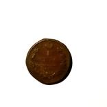 Монета РИ 1 копейка 1819 года. З-д ЕМ-АД, фото №2