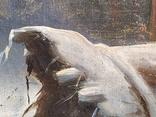 "Картина ""Закат в зимнем лесу"" Ю.Ю.Клевер(1850-1924гг), фото №5"