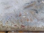 "Картина ""Закат в зимнем лесу"" Ю.Ю.Клевер(1850-1924гг), фото №9"