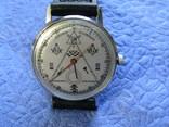 Часы Полет 23 камня Масонские символы рабочие на ремне р, фото №2