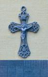 Серебряный крестик (3) ( из воды, проба 925, вес 1,73 г.), фото №2