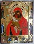 Ікона Почаївська Богоматір, 22,2х17,3х2,2, фото №2