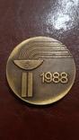 Настольная медаль  - всесоюзные юношеские спорт игры, фото №2