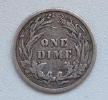 1 дайм / 10 центов 1905 г. США, серебро, фото №9